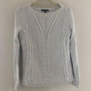 Banana Republic Ivory Sweater LS Small H31